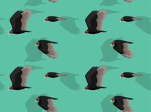 Turkey Vulture Flying Animate ...