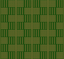 Seamless African Style Mud Clothing Fabric Pattern