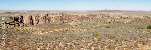 Fototapeta plateau over grand canyon