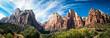 canvas print picture - Zion National Park East temple