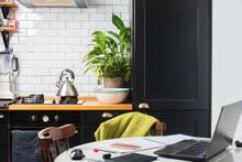 Modern Home Kitchen Interior B...
