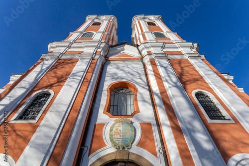Fotografie, Obraz Facade of the Basilica of Mariagyud in Hungary
