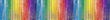 Fond bois de bardage aux couleurs de l'arc-en-ciel