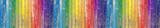 Fototapeta Tęcza - Fond bois de bardage aux couleurs de l'arc-en-ciel