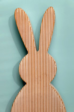Wooden Easter Bunny Decoration...
