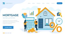 Mortgage Concept. House Loan O...