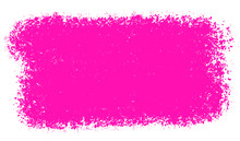 Thick Pink Paint Textured Brus...