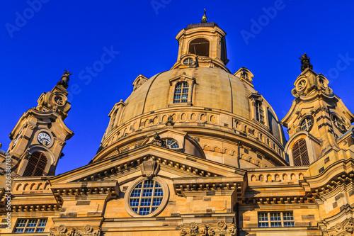 Foto Kuppel der Frauenkirche in Dresden