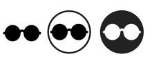 Glasses Icon . Web Icon Set .v...
