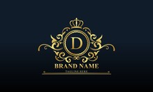 Ornamental Luxury Golden Logo ...