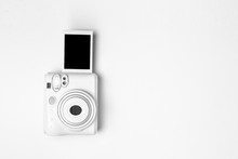 Modern Polaroid Camera, Photo ...