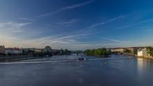 Vltava River Timelapse  In Dis...