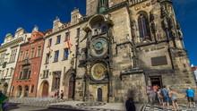 Prague Astronomical Clock Time...