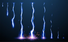 Lightning Animation Set With S...