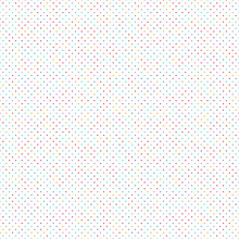 Dots Seamless Pattern Background. Small Squares And Pixels. Small Particles.