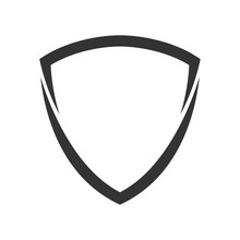 Shield Logo Template Flat Illu...