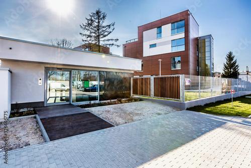 Foto Full length view of rental business apartment