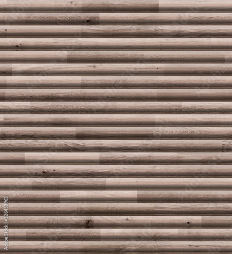 Wooden clapboard seamless texture template for 3d graphics Canvas Print