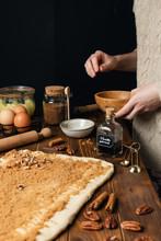 Cinnamon Rolls Unbaked Dough W...