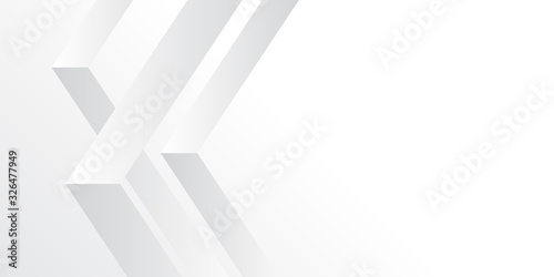 Fotografía White abstract background