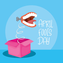 Happy April Fools Day Card Wit...