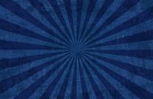 Blue Lightbeam Grunge Background