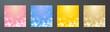 背景素材 アブストラクト パーティカル ネオン ライト ぼけ カラフル 輝き 豪華 キレイ 優美