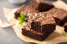 Freshly Baked Homemade Brownie...