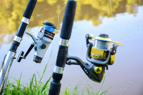 Fotografie, Obraz Fishing rod iii