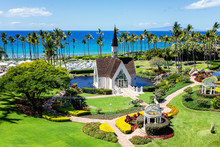 Garden Chapel In Maui Hawaii