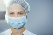 Surgical Nurse Portrait.