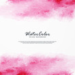 Abstract water color background with colorful brush illustration.