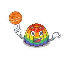 A Mascot Picture Of Rainbow Je...