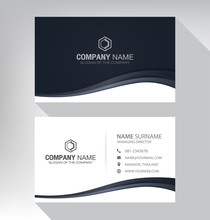 Business Card In Modern Style ...