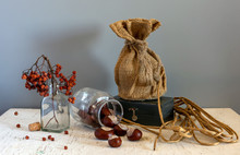 Still Life With Chestnuts, Tie...