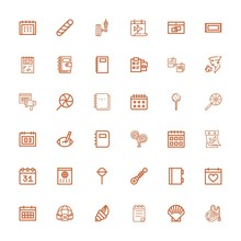 Editable 36 Spiral Icons For Web And Mobile