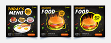 Fast Food Web Template Banner Flyer Post For Social Media Template For Sale Ads