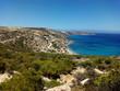 Landscape in Korfos area coast. Gavdos Island. Lybian Sea. Greece.