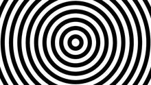 Hypnotic Spiral Loop Movie. Op...