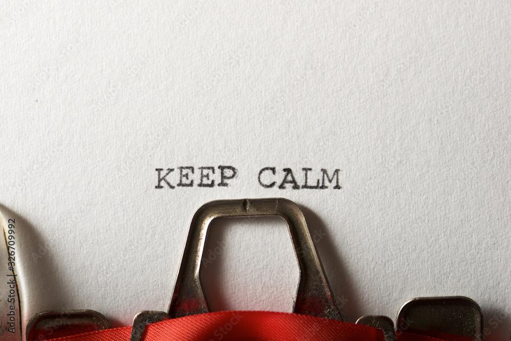 Fototapeta Keep Calm concept