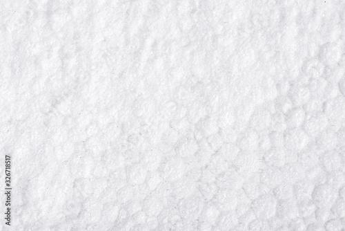 Photo White, textured foam, styrofoam background