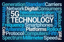 5G Technology Word Cloud