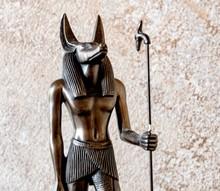 Anubis  Egyptian God  Dog Shaped Head