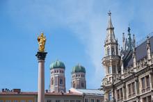 The Marian Column, Town Hall B...