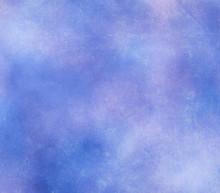 Grunge Lavender Blue Cloudy Sc...