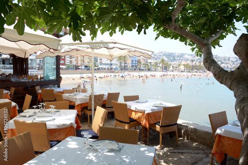 Photo Restaurante en el mar