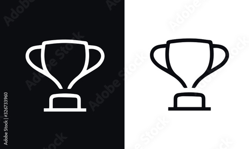 Fényképezés start up thin line series icon vector design black and white