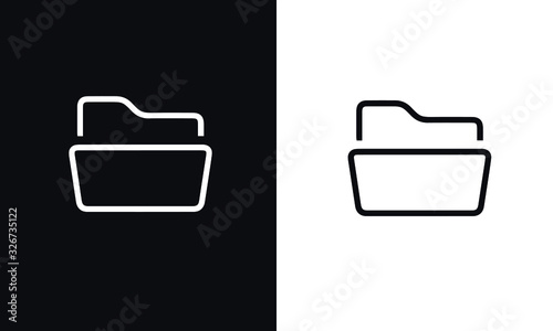 start up thin line series icon vector design black and white Wallpaper Mural