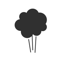 Comic Explosion Icon Or Air Pu...