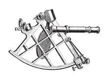 Sextant Navigation Instrument ...